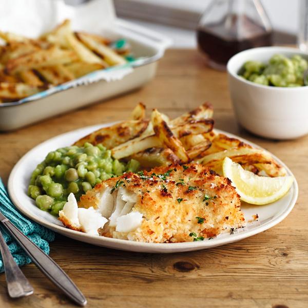 Fish, chips and mushy peas - Slimming World Blog