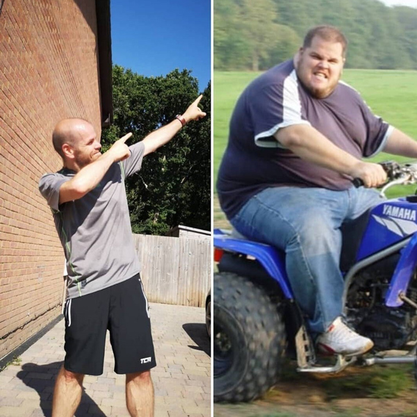 Jon Vidler transformation-slimming world mythbusters-slimming world blog