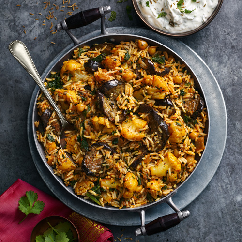 vegetable biryani-slimming world vegetarian recipes-slimming world blog