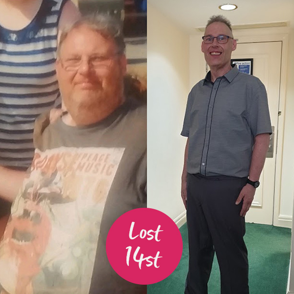 John Schofield before and after-world stroke day-slimming world blog