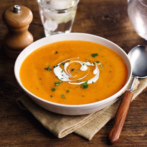 carrot and coriander soup-slimming world lunch ideas-slimming world blog