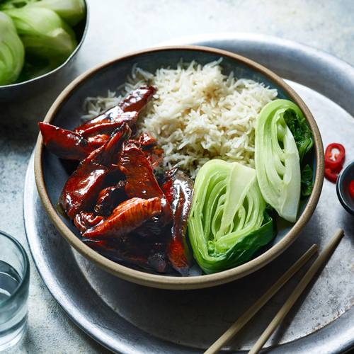 sticky chicken with rice-slimming world lunch ideas-Slimming World blog