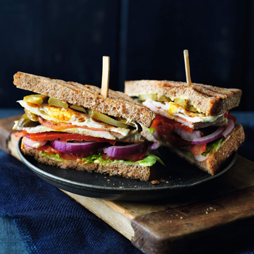turkey club sandwich-slimming world lunch ideas-slimming world blog