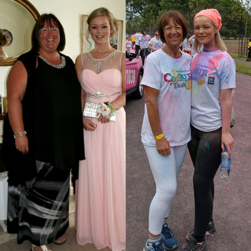 Wendy Deacon transformation-five myths about weight loss and exercise-slimming world blog