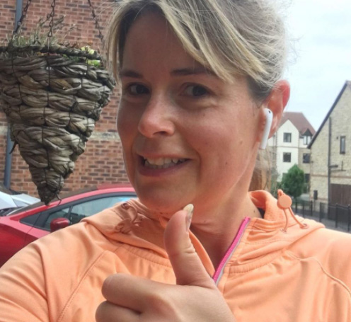 Rachel running-2020 Body Magic-slimming world blog
