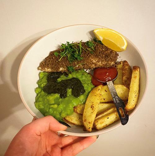 Fish and chips-7-day menu-slimming world blog