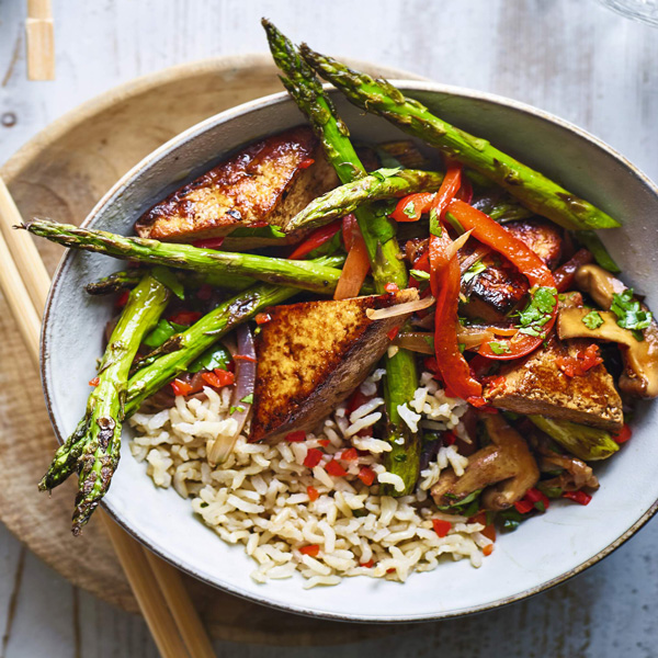 Tofu stir fry recipe-five-spice tofu stir fry-slimming world blog