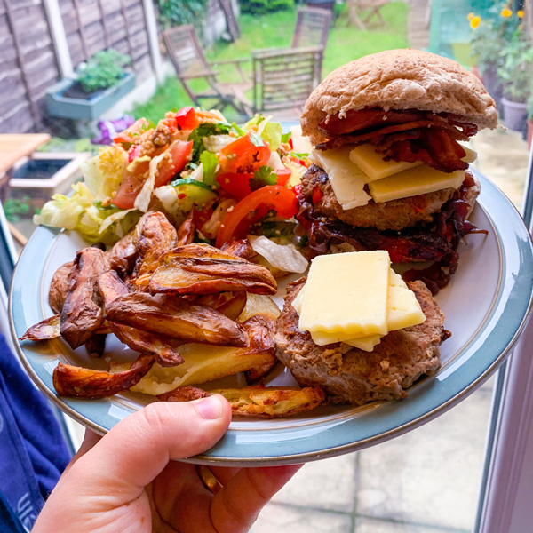 Slimming World burger-7-day menu-slimming world blog