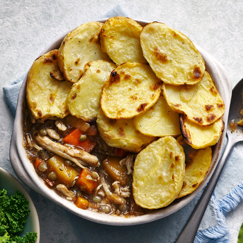 chicken hotpot-try our tray bakes-slimming world blog
