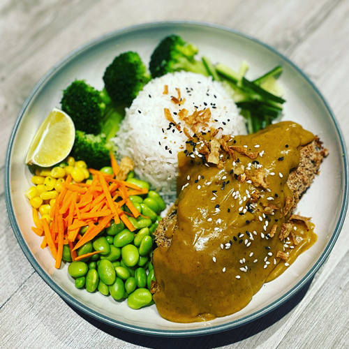 vegan katsu curry-vegan myths-slimming world blog