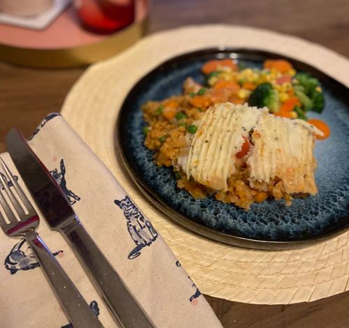 Vegan shepherd's pie-7-day menu-slimming world blog