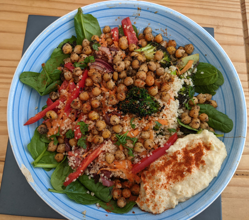 Lentil salad-vegan myths-slimming world blog