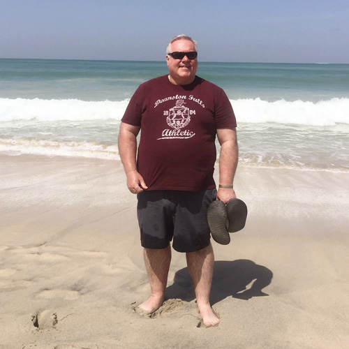 Mike Davis before photo-Mike Davis weight loss success-slimming world blog