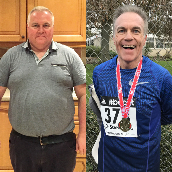 Mike Davis before and after-Mike Davis weight loss success-slimming world blog