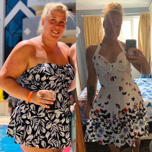Amanda Cross weight loss transformation-Feel the love with Slimming World-slimming world blog