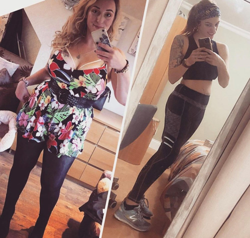 Jen before and after transformation-fit tips: running-slimming world blog
