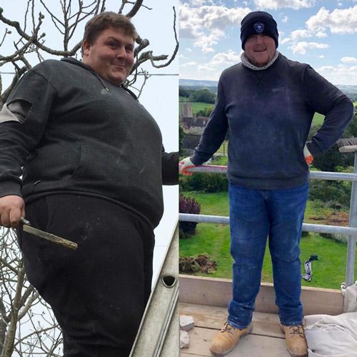 Ryan Money 15st weight loss transformation-My 34st wake up call-Slimming World blog