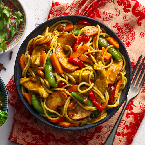 Singapore noodles in bowl-Slimming World Chinese-slimming world blog