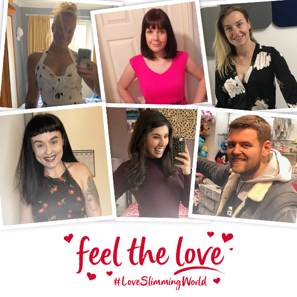 Member compilation photo - Feel the love with Slimming World - slimming world blog