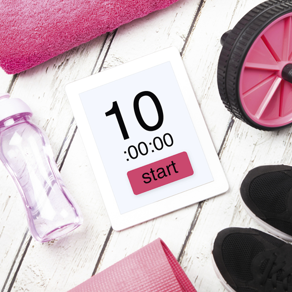 10-minute workout timer-10-minute workout-slimming world blog