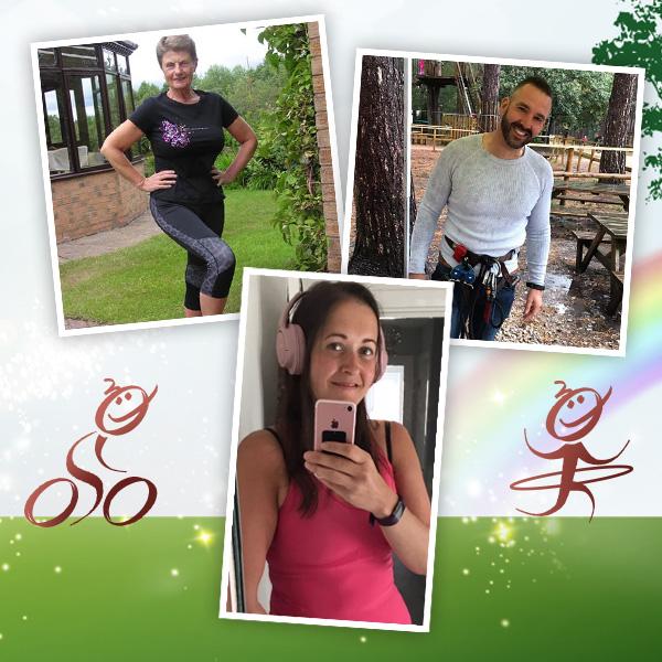 Slimming World members doing Body Magic
