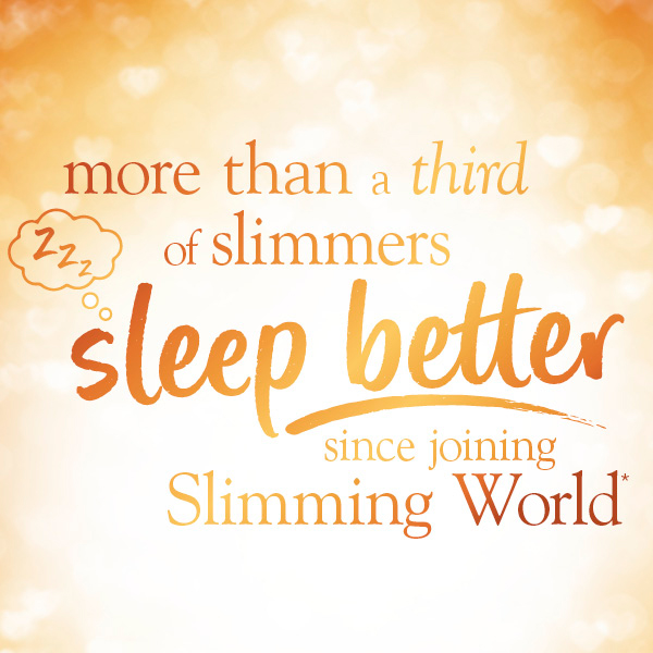 More than a third of slimmers sleep better since joining Slimming World