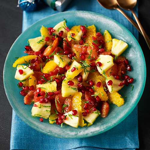 Jewelled fruit salad-april shopping list-slimming world blog