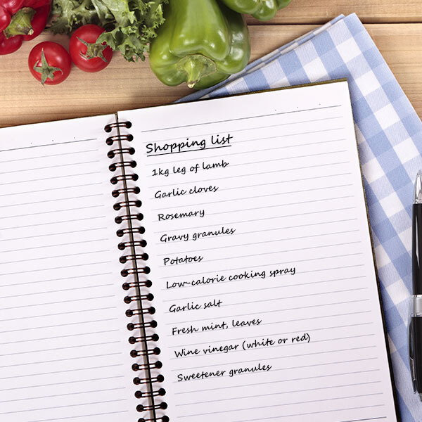 April shopping list-seasonal shopping list-slimming world blog