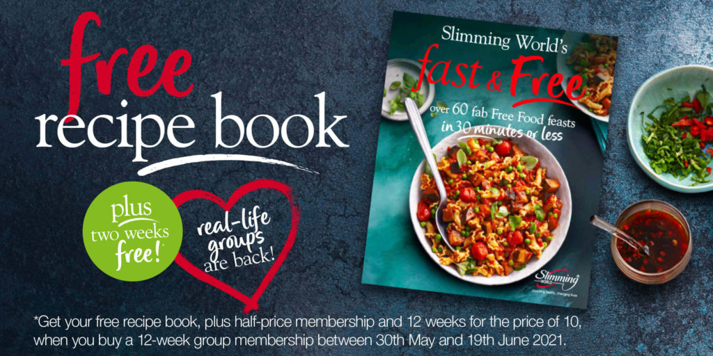 Slimming World offer - free Fast and Free recipe book