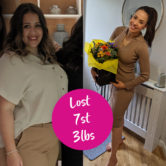Tansy Arnett 7st weight loss transformation-overcome emotional eating-slimming world blog