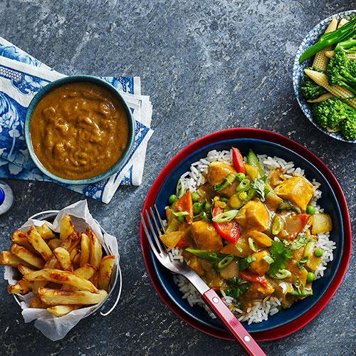 Chinese chicken- Slimming World food range curry