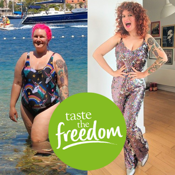Frankie Buttons Slimming World story