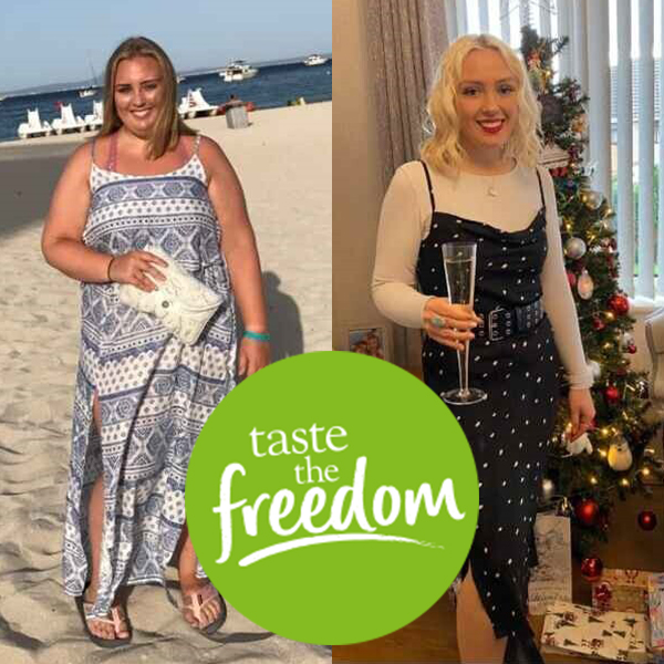 Caitlin Trick 7st weight loss transformation-freedom from calorie counting-slimming world blog