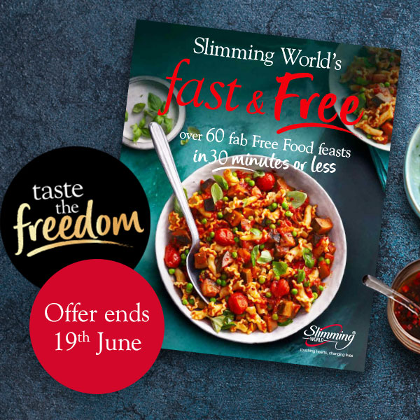 Fast and Free cover-Slimming World recipe books-Slimming World blog