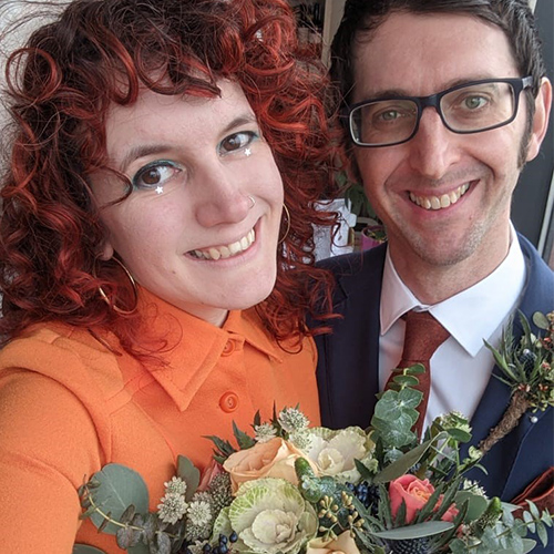 Frankie Buttons-Slimming World member-wedding day