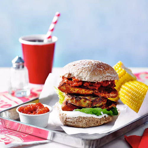 slimming world chicken and hash brown burger