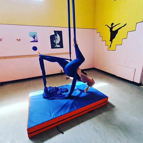 Katie aerial dancing-Freedom to get active your way-Slimming World blog