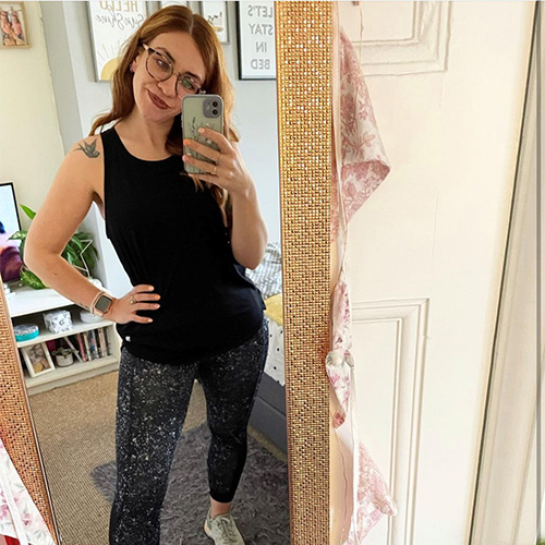 Lisa in gym gear-Freedom to get active your way-slimming world blog