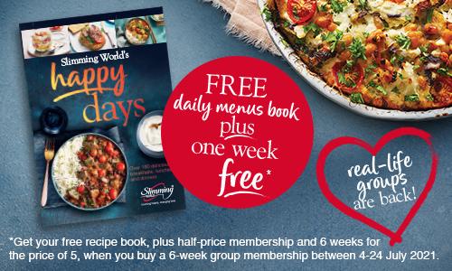 Happy days recipe book Slimming World