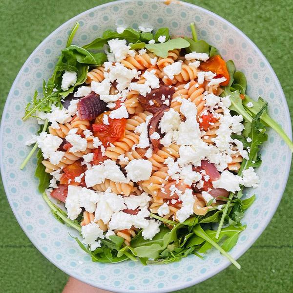 Pasta salad-picnic food ideas-slimming world blog