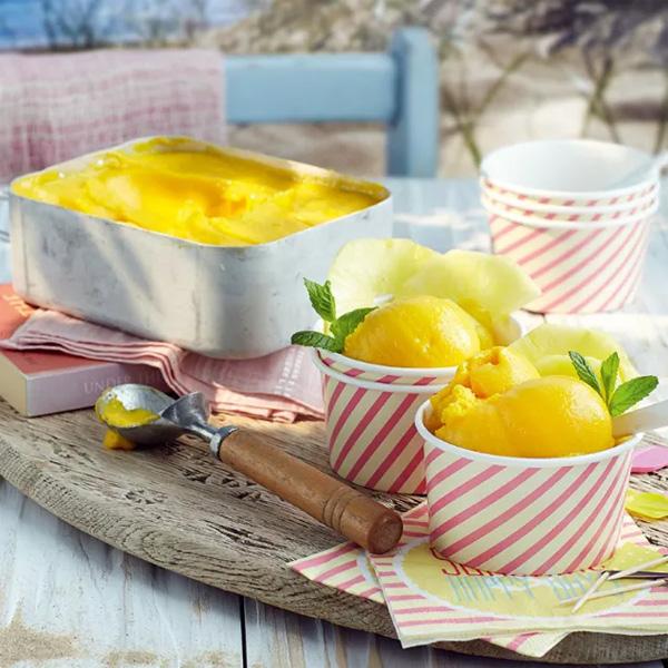 Mango sorbet header image-slimming world blog