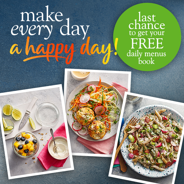 Slimming World Happy Days book promotion