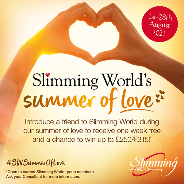 Slimming World bring a friend promotion