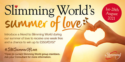 Summer of love bring a friend promotion