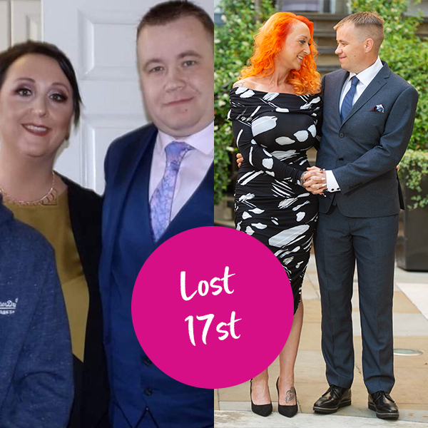 Nicola and Chris Guilfoyle 17st weight loss transformation-fakeaway recipes-slimming world blog