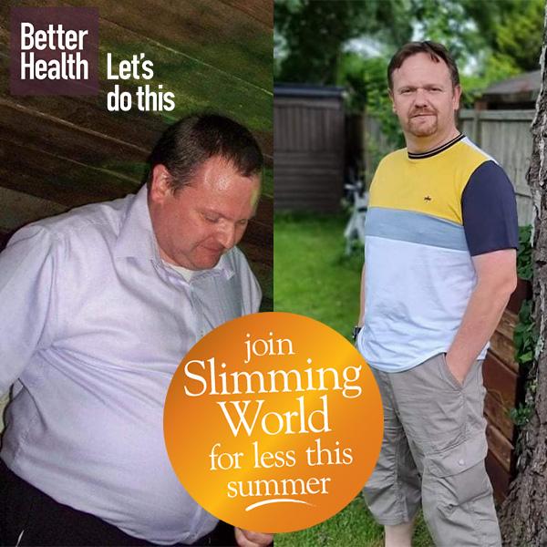 Slimming World member Leon McInnes