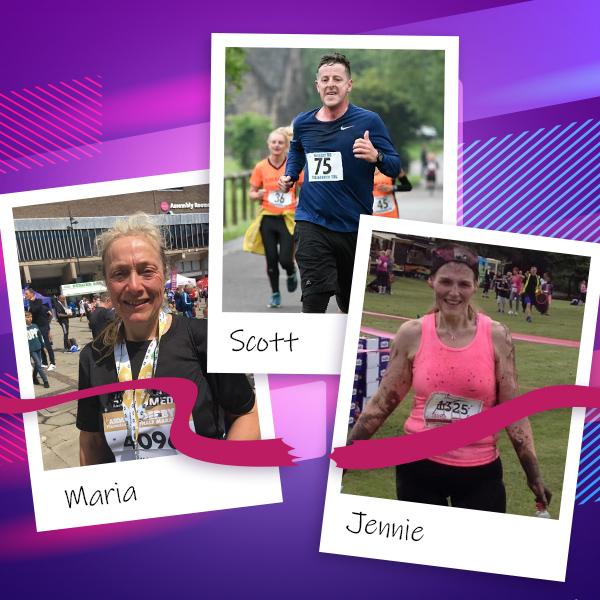 Slimming World London Marathon team header