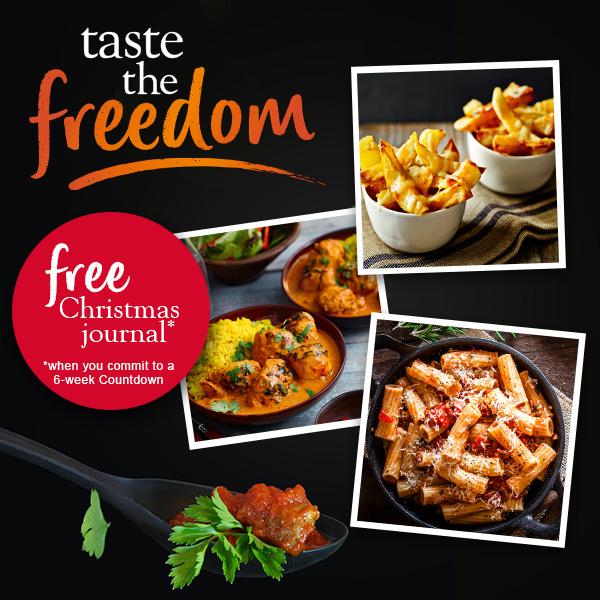 Slimming World taste the freedom promotion