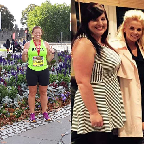 Sara weight loss transformation-Slimming World marathon team-Slimming World blog