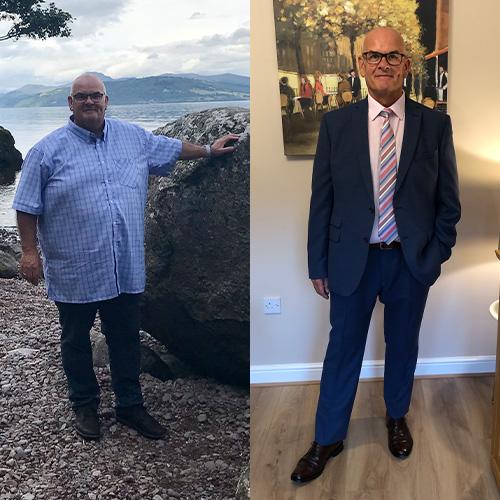 Ken McLeod 9st weight loss transformation-Ken McLeod success-slimming world blog